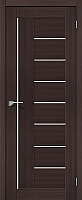 Дверь межкомнатная Portas S29 80x200 (орех шоколад) -