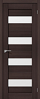 Дверь межкомнатная Portas S23 60x200 (орех шоколад) -