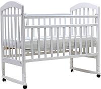 Детская кроватка Топотушки Лира-2 / 23 (белый) -