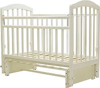 Детская кроватка Топотушки Лира-5 / 32 (слоновая кость) -