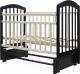Детская кроватка Топотушки Лира-5 / 32 (венге/слоновая кость) -