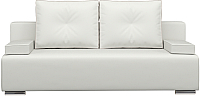 Диван Woodcraft Лиссабон (белый кожзам) -