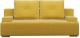 Диван Woodcraft Лиссабон (горчичный велюр/cв.-кор. велюр) -