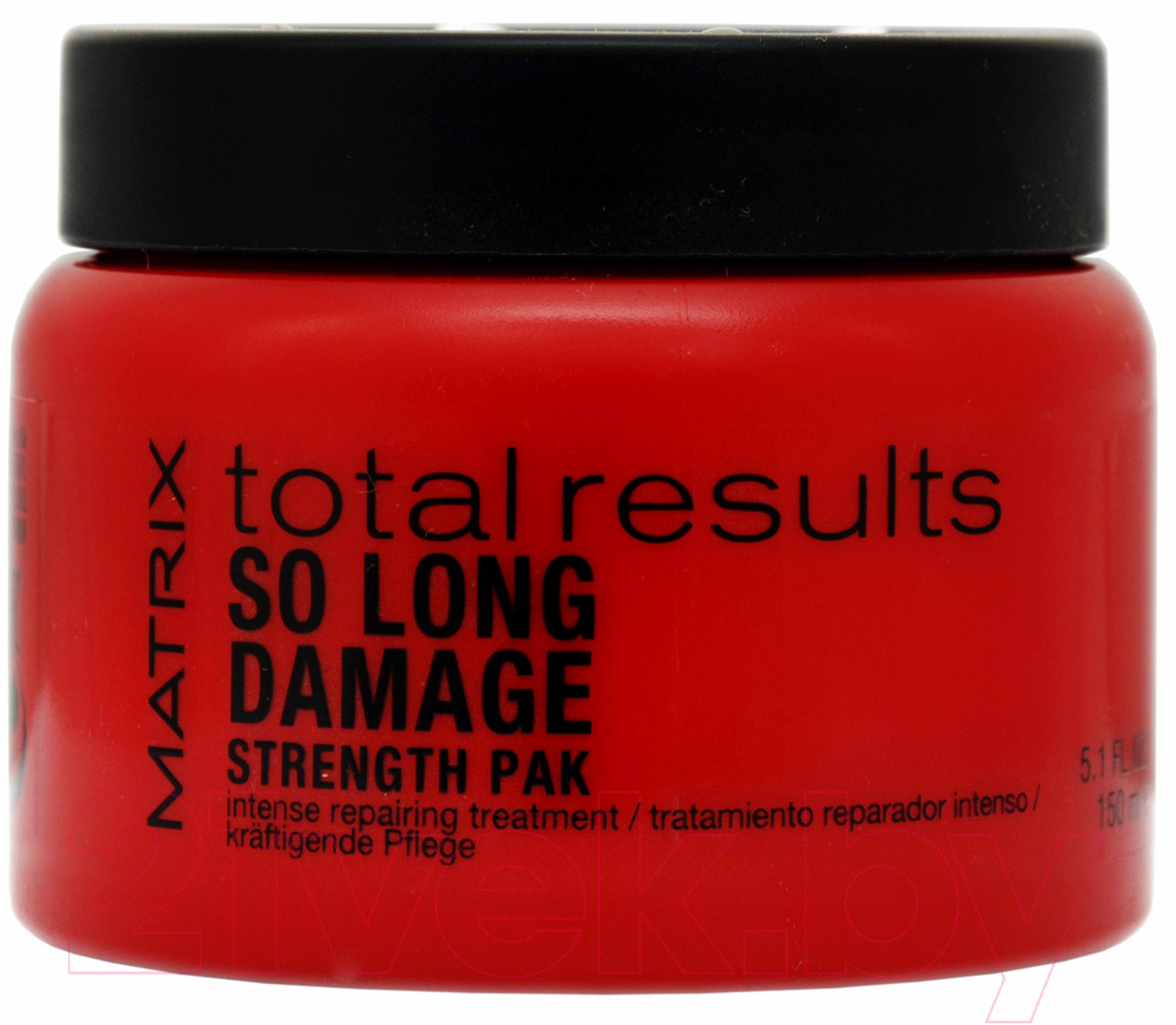 Купить Маска для волос MATRIX, Total Results So Long Damage Strength Pak (150мл), Испания, Total Results (Matrix)