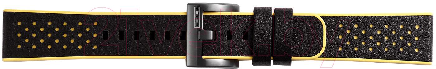 Купить Ремешок для умных часов Samsung, Gear Sport Hybrid Sport / GP-R600BREEAAD (желтый), Россия