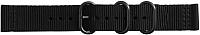 Ремешок для умных часов Samsung Gear Sport Premium Nato / GP-R600BREECAA (черный) -