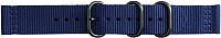 Ремешок для умных часов Samsung Gear Sport Premium Nato / GP-R600BREECAB (темно-синий) -