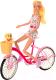 Кукла с аксессуарами Defa На велосипеде 8276 -