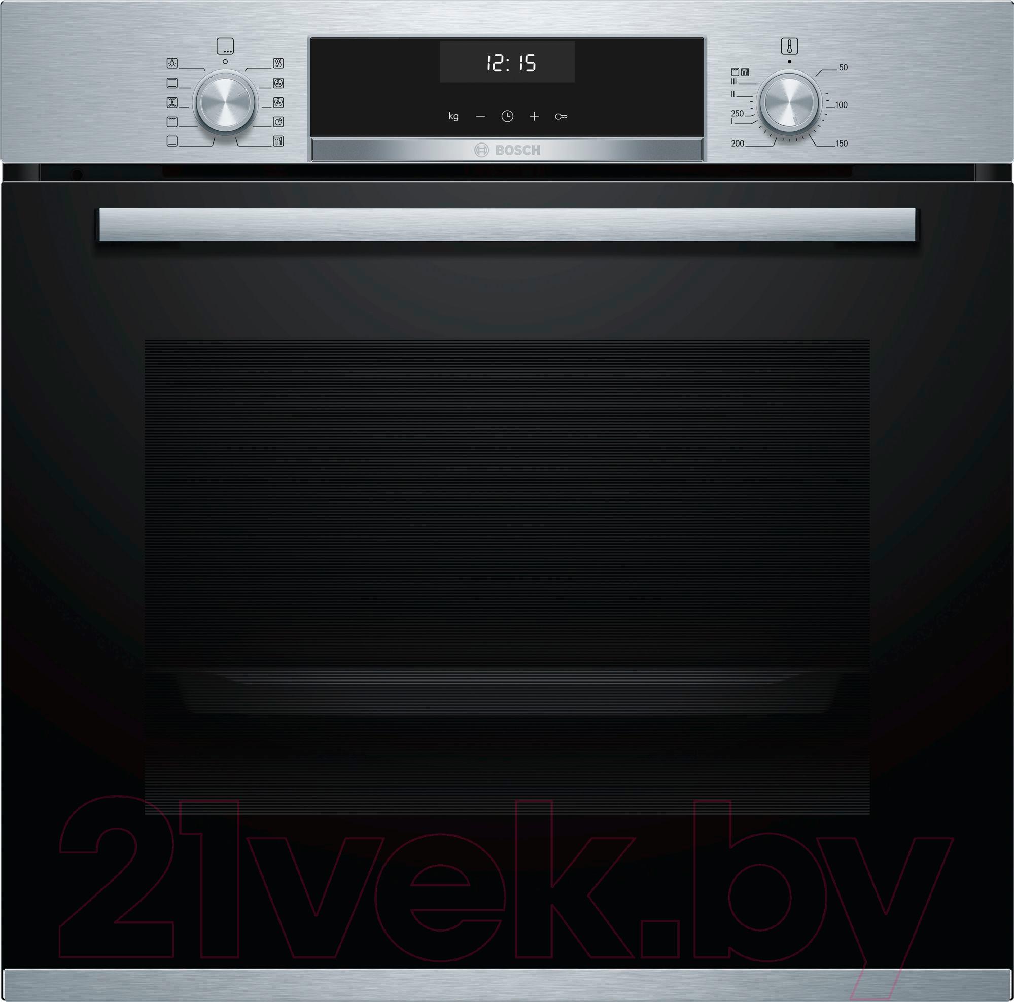 Купить Электрический духовой шкаф Bosch, HBG537BS0R, Испания