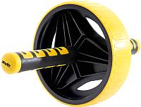 Ролик для пресса Starfit RL-105 (черный/желтый) -