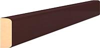 Притворная планка Portas 1x3x207 (орех шоколад) -