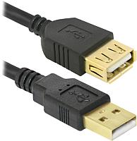 Удлинитель Defender USB02-06PRO / 87445 (1.8м) -