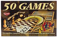 Набор игр Dream Makers 50 видов игр для всей семьи / 1161H -