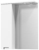 Шкаф с зеркалом для ванной Аква Родос Квадро 60 L / АР0001761 -