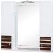 Шкаф с зеркалом для ванной Аква Родос Империал 95 / АР0002071 (венге) -