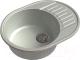 Мойка кухонная GranFest Quarz GF-Z58 (серый) -