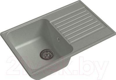 Мойка кухонная GranFest Quarz GF-Z78 (серый)