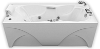 Ванна акриловая Triton Цезарь 180x80 Базовая (с гидромассажем) -