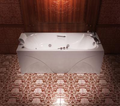 Ванна акриловая Triton Цезарь 180x80 Базовая (с гидромассажем)