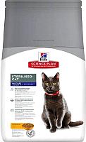 Корм для кошек Hill's Science Plan Mature Adult 7+ Senior Sterilised Cat Chicken (3.5кг) -