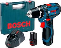 Профессиональная дрель-шуруповерт Bosch GSR 12V-15 Professional (0.601.868.122) -
