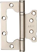 Петля дверная Arni 100x75 SN -