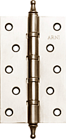 Петля дверная Arni MS5030C-4BB SN (125x75) -