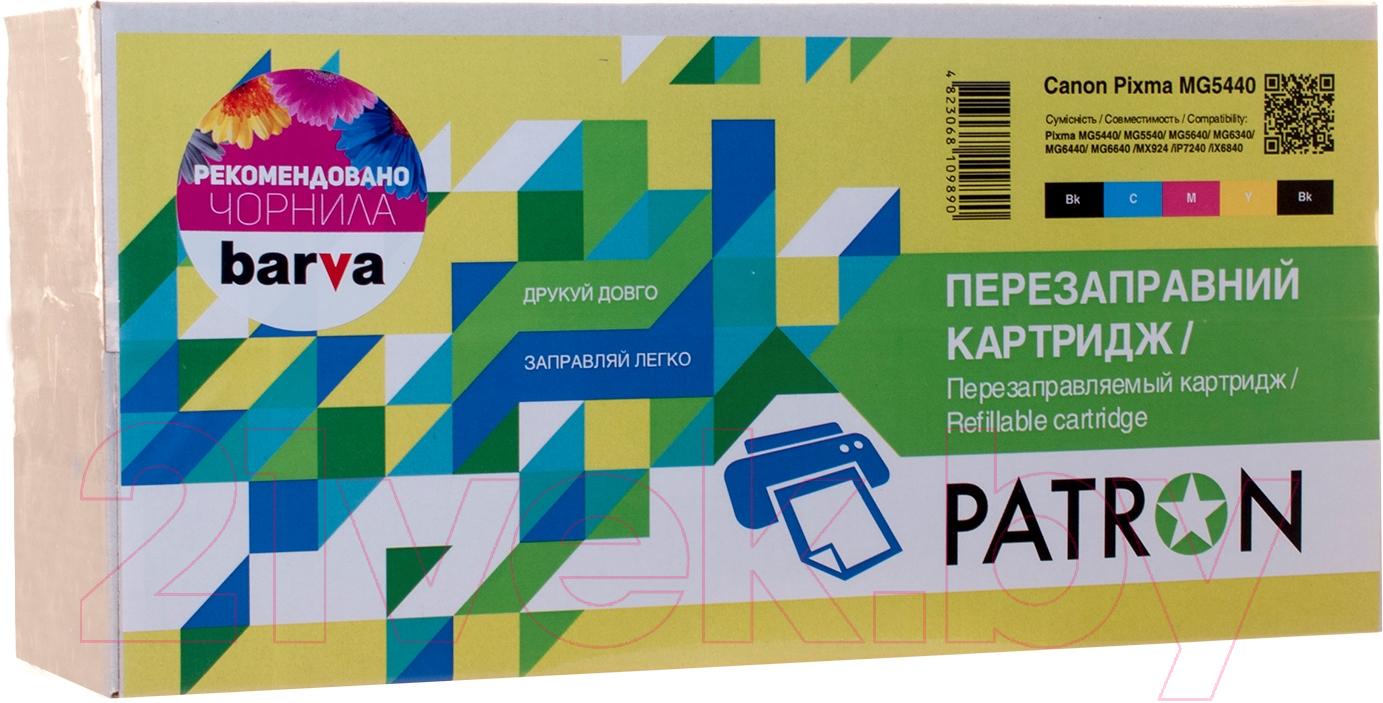 Купить Комплект картриджей Patron, PN-450-N064 (029176), Украина, черный