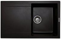 Мойка кухонная Lava L4 Lava (черный металлик) -