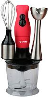 Блендер погружной Delta DL-7012D (красный) -