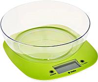 Кухонные весы Delta KCE-32 (зеленый) -