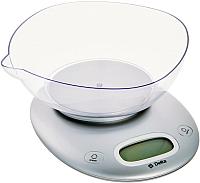 Кухонные весы Delta KCE-34 (серебристый) -