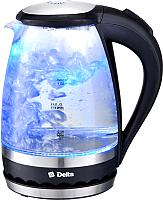 Электрочайник Delta DL-1202 (черный) -