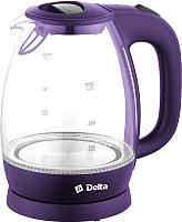 Электрочайник Delta DL-1203 (фиолетовый) -