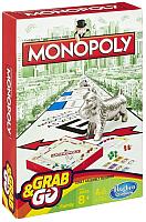 Настольная игра Hasbro Монополия / B1002 (дорожная версия) -