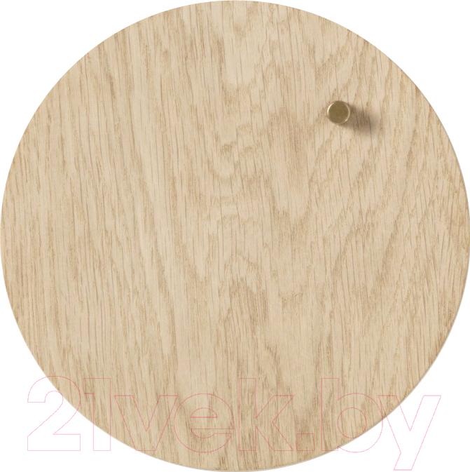Купить Магнитно-маркерная доска Naga, Nord Oak 70390 (25см, круглая), Дания