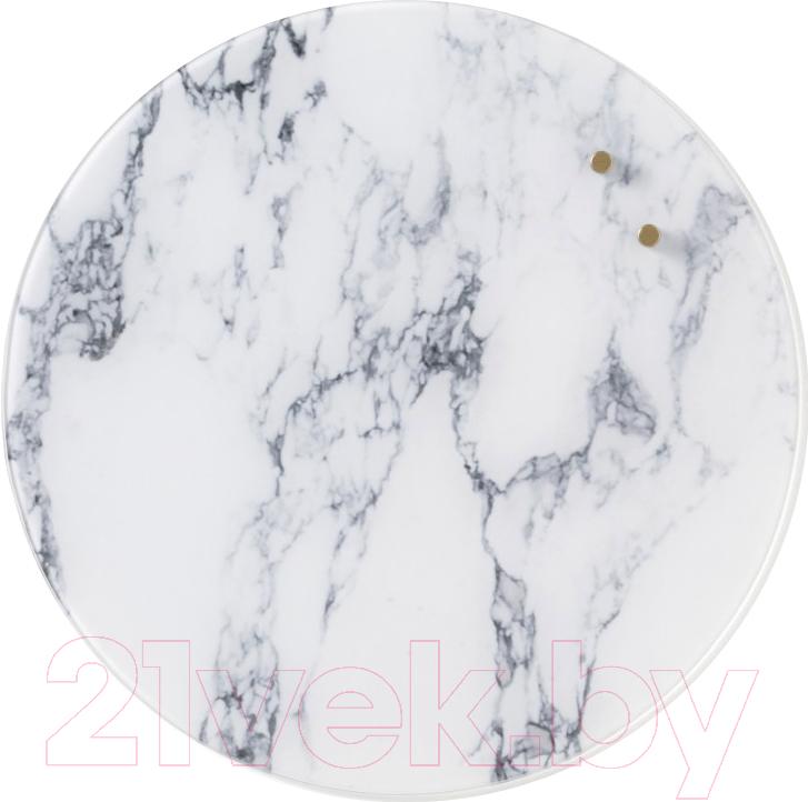 Купить Магнитно-маркерная доска Naga, Nord Marble 70510 (35см, круглая), Дания