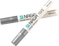 Набор маркеров для доски Naga 22131 (2шт, серебристый) -