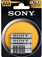 Комплект батареек Sony R03NUB4A (4шт) -