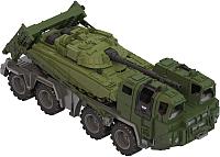 Набор игрушечной техники Нордпласт Военный тягач Щит с танком 258 -