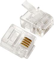 Коннектор Cablexpert MP-6p4c/5 -