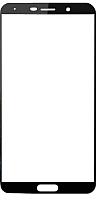 Защитное стекло для телефона Case Full Screen для Mate 10 Lite (черный глянец) -