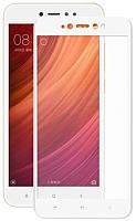 Защитное стекло для телефона Case Full Screen для Redmi 5 (белый глянец) -