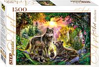 Пазл Step Puzzle Волки / 83046 (1500эл) -