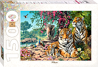 Пазл Step Puzzle Тигры / 83054 (1500эл) -