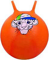 Фитбол с рожками Starfit Тигренок GB-402 (55см, оранжевый) -