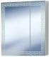 Шкаф с зеркалом для ванной Акваль Паола 60 / EP.04.60.12.N -