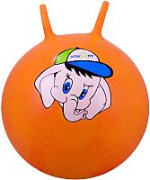 Фитбол с рожками Starfit Слоненок GB-401 (45см, оранжевый) -