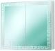 Шкаф с зеркалом для ванной Акваль Паола 75 / EP.04.75.12.N -