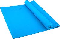Коврик для йоги и фитнеса Starfit FM-101 PVC (173x61x0.6см, синий) -
